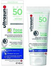 Ultrasun Face Mineral Spf50, 40 Ml