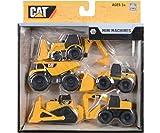 mini machines caterpillar - Cat Caterpillar Construction Mini Machine Dump Track Steamroller 5-Pack #34601