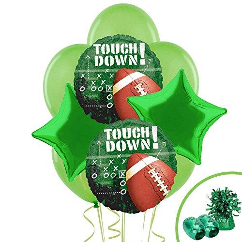 BirthdayExpress Football Party Supplies Touchdown Balloon Bouquet Kit ()
