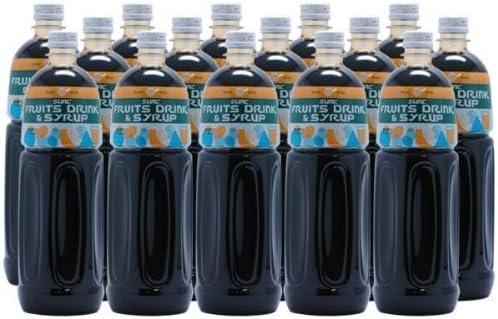 【業務用】 グレープ 濃縮ジュース (果汁濃縮グレープジュース) 希釈タイプ 1L ペットボトル×15本