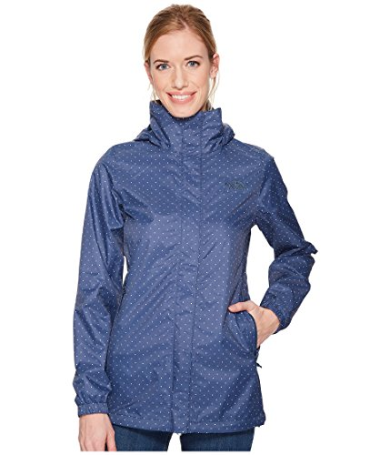83e34143ae9 The North Face Women s Resolve Parka Blue Wing Teal and Triangle Dot Print  - XS by