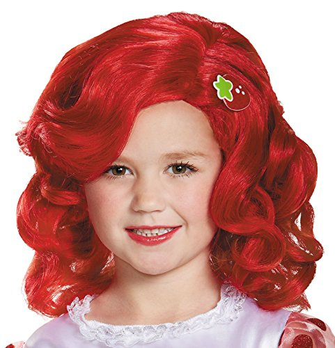 Strawberry Shortcake Deluxe Child Wig Costume Child