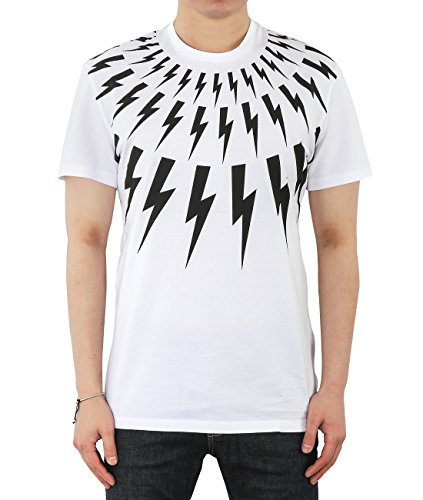 wiberlux-neil-barrett-mens-lightning-bolt-print-round-neck-t-shirt-s-white