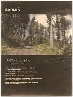 Amazoncom Garmin TOPO US K Mountain North MicroSD Card - Topo us 24k mountain central map