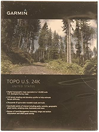 Amazoncom Garmin US TOPO 24K Topographical Maps Of Washington - Buy Us Topo24k Garmin Maps