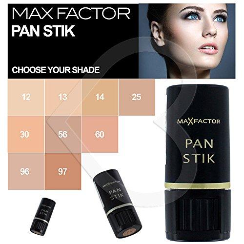 (Max Factor Pan Stik Panstik Stick Foundation Full Coverage 9g 56 Medium)