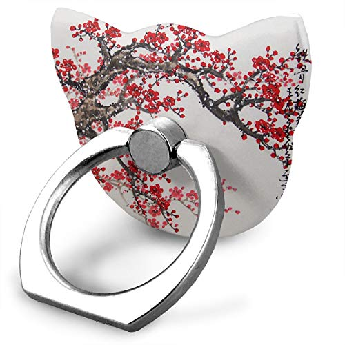 Used, Ring Holder Drawn Cherry Cat Type Ring Phone Holder for sale  Delivered anywhere in Canada