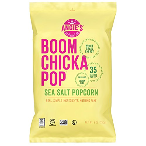 Best Price Angie's BOOMCHICKAPOP Sea Salt Popcorn, 9 Ounce Bag
