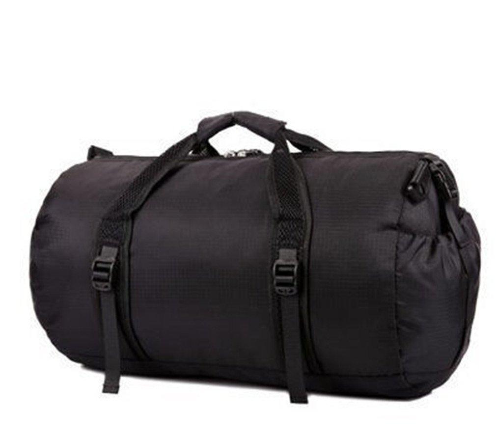 Breadaye Waterproof Bag Sport Bags Men's Travel Bags Collapsible Bag Gym Sac A Main black small