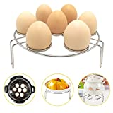 pressure cooker accessories rack - Egg Steamer Rack for Instant Pot Alamic Stainless Steel Steamer Rack Trivet Basket Stand for Pressure Cooker
