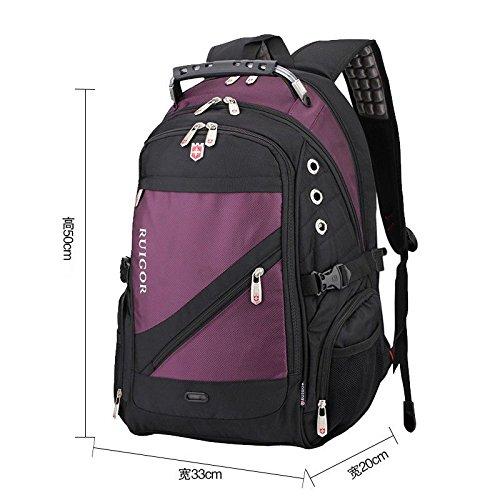 pour capacité bandoulière sac mode de femmes dos dos à occasionnel sac hommes à de XSBAO voyage purple à voyage Sac haute de q0EtqzB