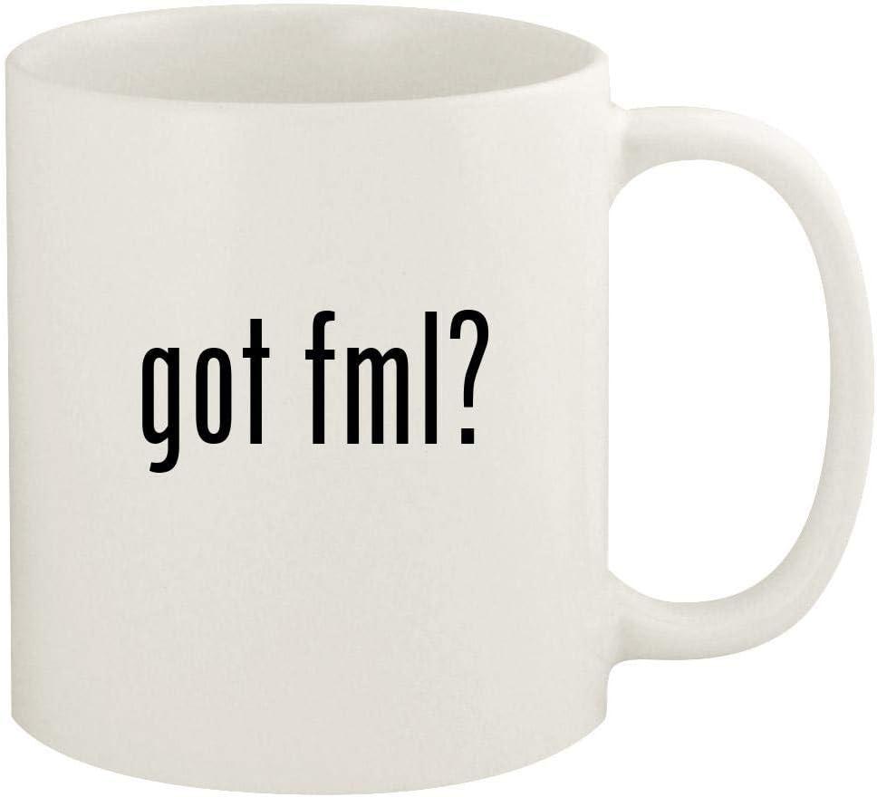 got fml? - 11oz Ceramic White Coffee Mug Cup, White