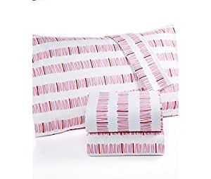 Martha Stewart KIDS 100% Cotton Flannel Sheet Set Full (Double) Size - Pick up Sticks