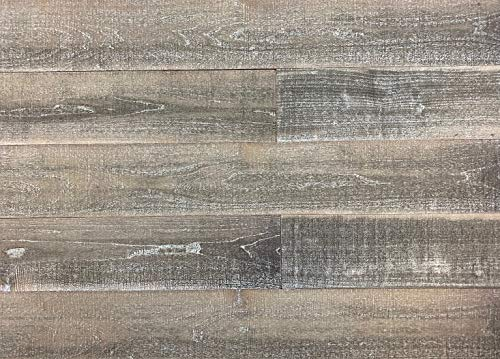 Smart Paneling 11337 Antique Wood Wall Planks, Gray/Brown, 14 Piece (Wooden Wall)