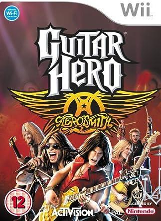 Guitar Hero Aerosmith Standalone Game /Wii: Amazon.es: Videojuegos