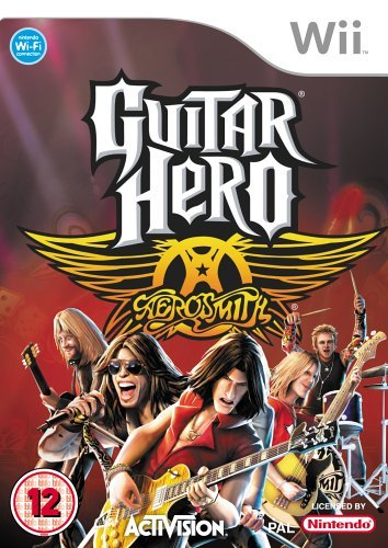 Guitar Hero Aerosmith Standalone Game /Wii
