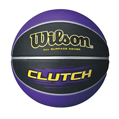 Wilson Clutch Purple/Black basketball, Official Size