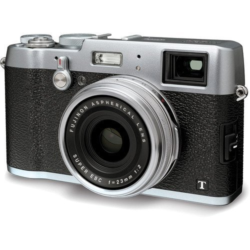 Fujifilm X100T Digital Camera (Silver) - International Version (No Warranty)