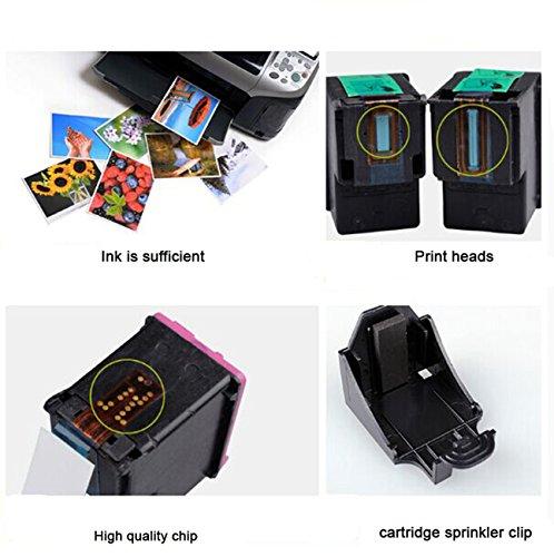 ESTON 2 Pack #62 XL Black/Color Ink for HP ENVY 5640 ENVY 5642 ENVY 5643 ENVY 5644 Photo #7