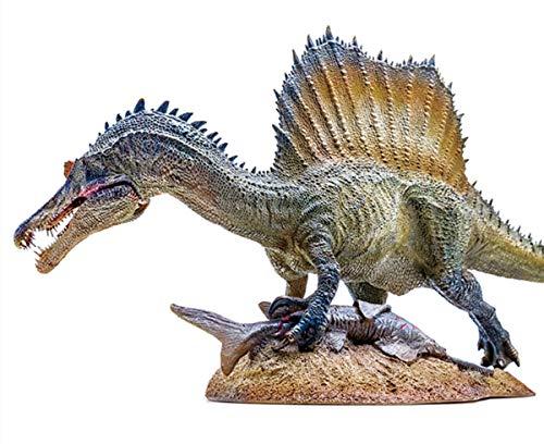 PNSO 1/35 サイズ スピノサウルス ジュラシック 大きい 肉食 恐竜 リアル フィギュア PVC プラモデル おもちゃ 科学 芸術 模型 プレゼント プレミアムエディション 49cm級 ベース付き オリジナルボックス 塗装済