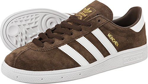 Suede Dark Mens Munchen Brown Trainers Adidas FE8Awqz