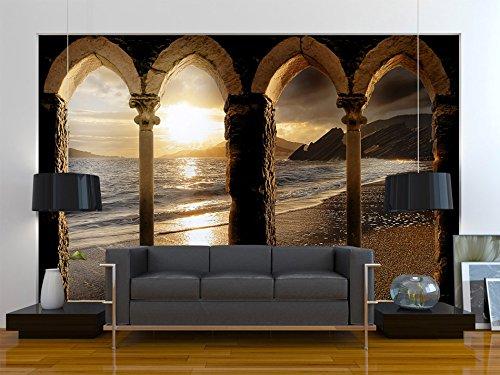 Murando - Fototapete Architektur 350x256 cm - - - Vlies Tapete - Moderne Wanddeko - Design Tapete - Wandtapete - Wand Dekoration - Architektur Meer 10110904-28 921961