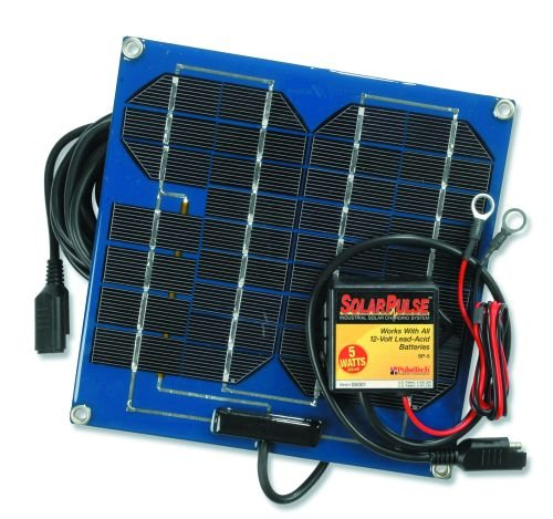PulseTech SP-5 SolarPulse 5-Watt Battery Charger