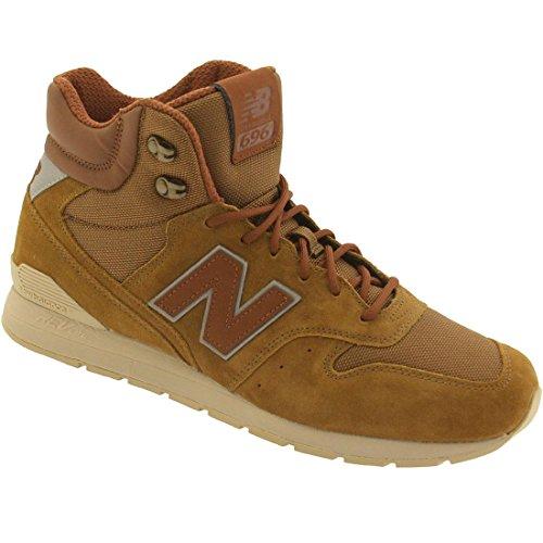 New Balance Mens Mrh696br Brun