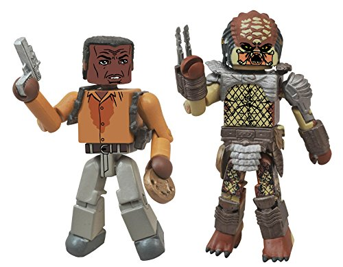 - Predator 2 Minimates Series 1 Harrigan & City Hunter Predator 2