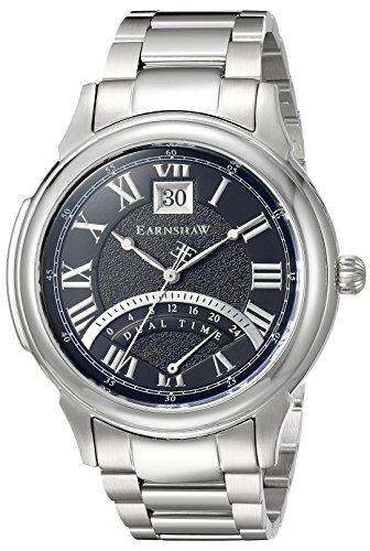 Thomas Earnshaw Men's ES-8050-11 Observatory Analog Display Japanese Quartz Silver Watch