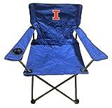 Rivalry NCAA Illinois Illini Folding Chair With Bag