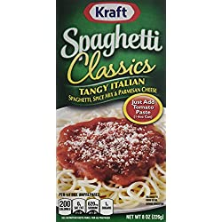 Kraft Foods Classics Tangy Italian Spaghetti, 8.0 Ounce (Pack of 12)