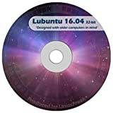 Software : Lubuntu Linux 16.04 DVD - FAST Desktop Live DVD - Replace Windows XP - Official 32-bit Release