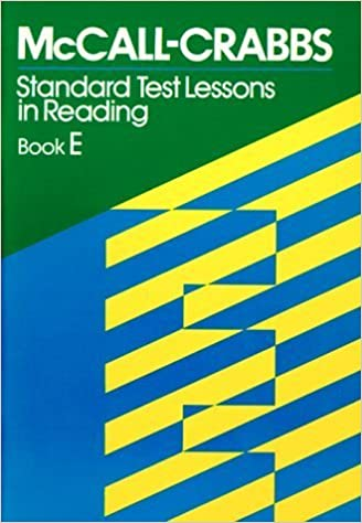 Book McCall Crabbs: Standard Test Lessons in Reading, Book E by William A. McCall (1979-06-01)