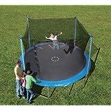 Trainor Sports 12-Feet Trampoline and Enclosure Combo