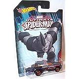 hotwheels marvel ultimate spiderman repo duty rhino car 1.64 scale model by Hot Wheels