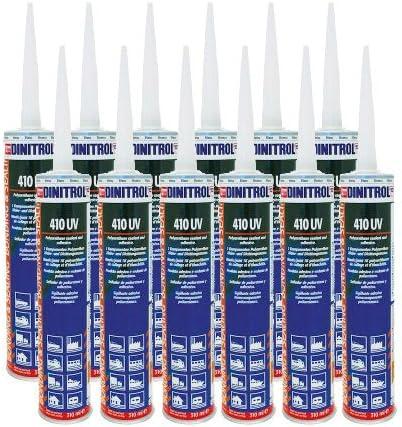REJEL DINITROL 410 - Tubos de poliuretano UV (12 x 310 ml, en caja): Amazon.es: Coche y moto