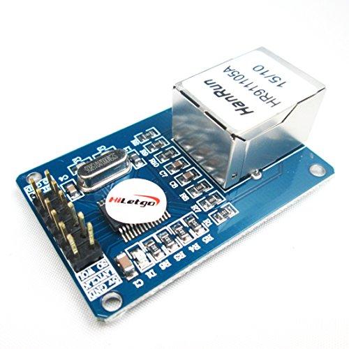 HiLetgo ENC28J60 Ethernet LAN Network Module for Arduino SPI AVR PIC LPC STM32