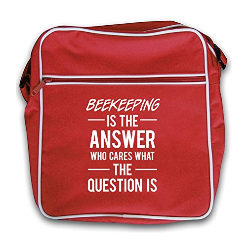 Bag Is The Answer Red Beekeeping Flight Retro UX6wWP6dq