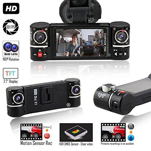 Indigi NEW F6+ Dash camera for Cars DVR Camera  ]