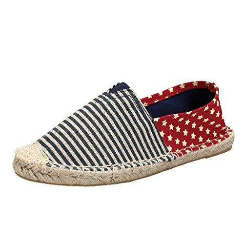 Casual Shoes per Lvguang Le Scarpe Tela Stile13 Espadrillas Basse Women Unisex Viaggio di da Uomo Scarpe 4wzwAaq