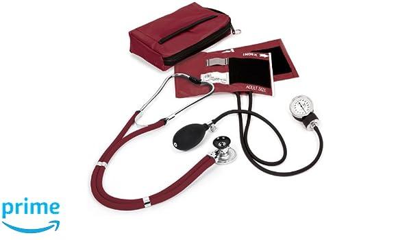 NCD Medical/Prestige Medical A2-BUR - Juego de tensiómetro de brazo y estetoscopio (funda incluida): Amazon.es: Industria, empresas y ciencia