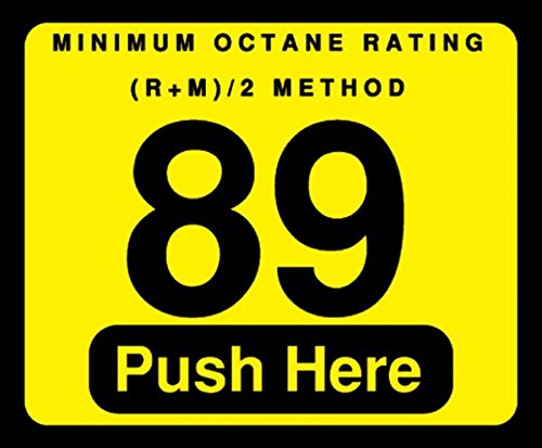 002-129999 - 89 Push Here Octane Decal