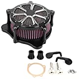 Air Filter CNC Aluminium Motorcycle Modified Air Cleaner Intake Filter Fit For FXDLS