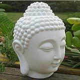 Singeek Buddha Head Ceramic Tea Light