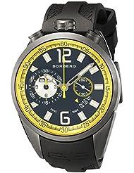 Bomberg 1968 Dial Mens Gunmetal Chronograph Watch NS44CHPGM.0083.2