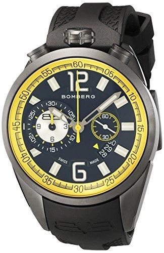 Bomberg 1968 Dial Mens Gunmetal Chronograph Watch ()