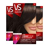 Vidal Sassoon Pro Series Hair Color, Shade 4 Dark Brown, 3 Count