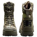 FREE SOLDIER Bottes de Chasse pour Hommes Bottes Militaires de Haut-Niveau Bottes Tactiques de Combat Chaussures à… 9