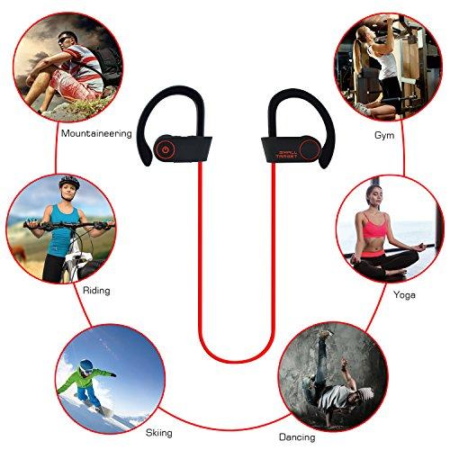 Bluetooth Headphones, Small Target Best Wireless Sport